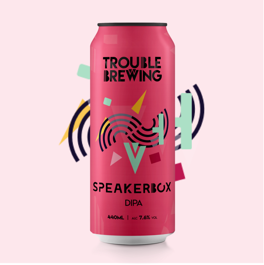 Trouble Brewing Speakerbox
