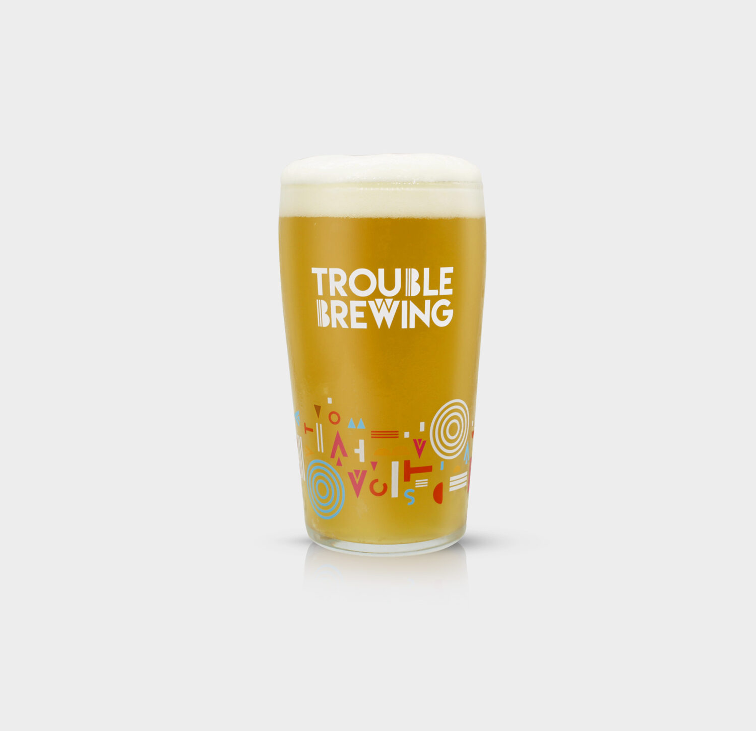 Trouble Brewing Glass