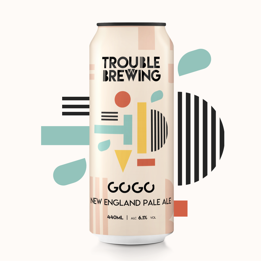 Trouble Brewing Gogo New England pale ale